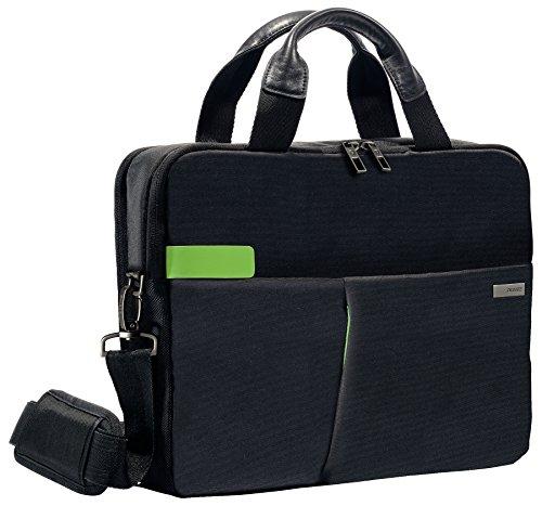 Leitz, Business Laptop-Tasche für 13.3 Zoll Laptop oder Ultrabook, Smart Traveller, Complete, Schwarz, 60390095