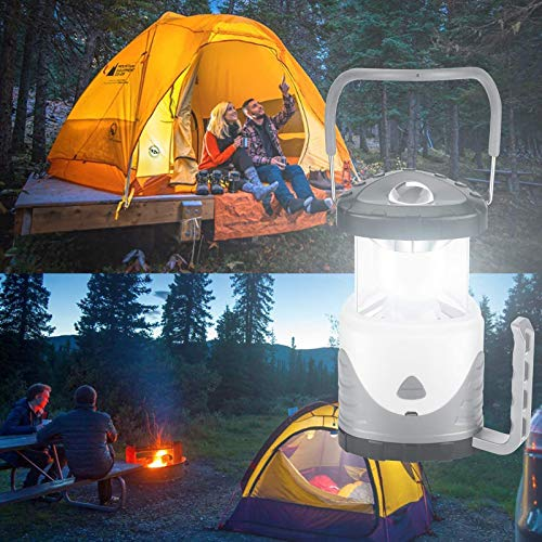 LEMKEEP Portable LED Camping Lantern Lightweight,Collapsible Camping Lights Outdoor LED Lantern, 4 Modes Battery-Operated, Water Resistant Emergency Light For Hiking, Fishing, Power Cuts,durable