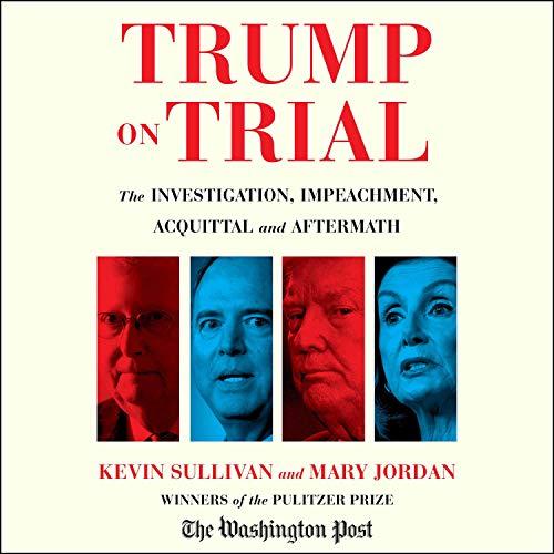 Page de couverture de Trump on Trial