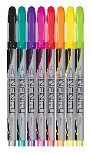 Write Dudes Ultra Fine-Point Infinity pens, 8 Count (CYH49)