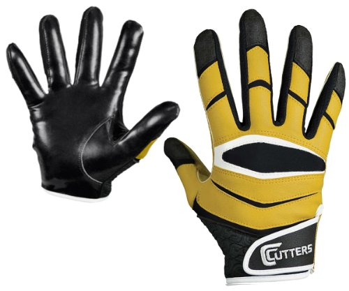 Cutters Gloves C-TACK Revolution Football Gloves (Royal, X-Large)