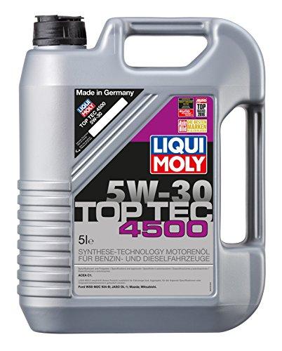 LIQUI MOLY 3729 Top Tec 4500 Motoröl 5 W-30 5 L
