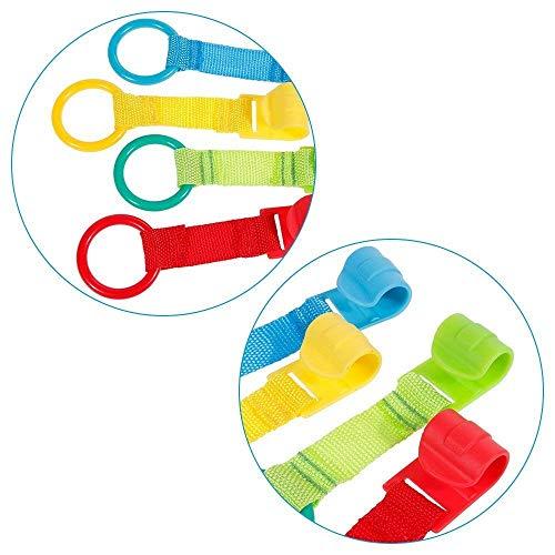 Rovtop 10 Packs Ringe für Krippen und Spielplätze