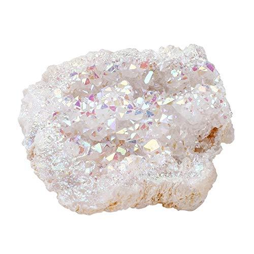 Frieed 1 PCS Cristales aleatorios Piedras Geode Natural y Mineral Cuarzo Agates Chakra Energy Stones Duradero 0122 (Color : 1 pcs Random)