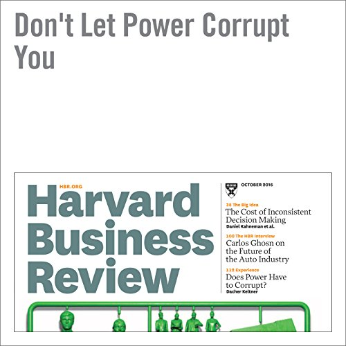 Don't Let Power Corrupt You copertina