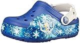 Crocs lights Frozen K, Sabots Mixte Enfant, Blau...