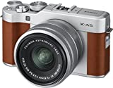 Fujifilm X-A5 Fotocamera Digitale Mirrorless in Kit con Obiettivo Zoom, XC15-45 mm, Marrone