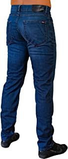 Athletic Fit Jeans for Muscular Men with Big and Strong Legs (Classic, W31/L34)