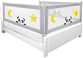 100CM Height Bed Rail/BedRail Adjustable Folding Kids Safety Cot Guard Protecte (100X1.5M)