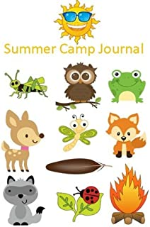 Summer Camp Journal: 6 X 9 Writing Journal, Wildlife Cover, Sunny Days, Bullet Journal, Daily Gratitude Journal (Diary); 50 Pages to Document Daily Camp Adventures: Volume 3