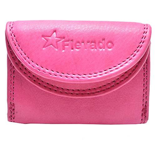 flevado Kleine handliche Party Disco Geldbörse in Mehreren Farben Lifestyle (pink)