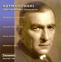 Szymanowski 100th Birthday Concerts by Sviatoslav Richter