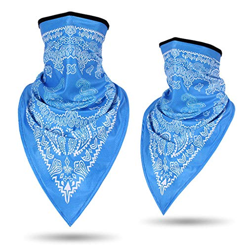 Find Discount Seamless Rave Bandana Face Cover Dust Wind UV Sun Neck Gaiter Tube Headwear, Motorcycl...