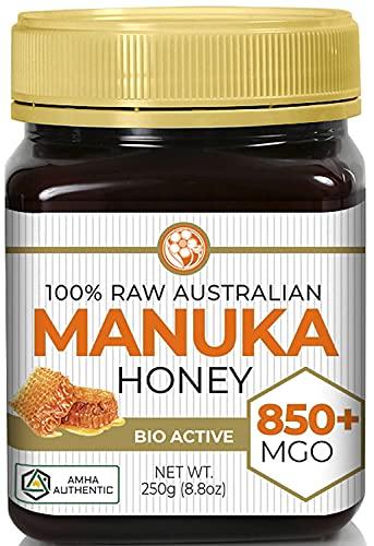 Manuka Honey MGO 850+ (NPA 20+) High Grade Medicinal Strength | Non GMO | Raw | Active | AMHA Certified | 250g by Good Natured