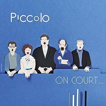 On court...