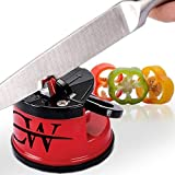 Knife Sharpener - Sharpens Any Blade from Chef's, Utility, Carving, Serrated to Steel