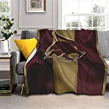 871 Super-Warm Texas State University Fleece Blanket Soft Fluffy Comfy Thick Couch Bed Sherpa Blanket for Winter