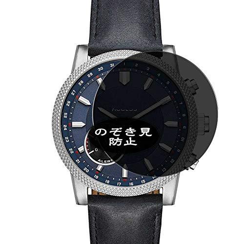 Vaxson Protector de pantalla de privacidad, compatible con reloj inteligente Michael Kors Access Scout, protector antiespía [vidrio templado] filtro de privacidad