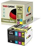 Pack de 4 XL TONER EXPERTE Compatibles con HP 932 XL 933 XL 932XL 933XL Cartuchos de Tinta para HP Officejet 6600 6700 7110 7610 7612 7620 6100 7510 7600 (Negro, Cian, Magenta, Negro)