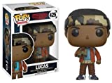 Funko Pop!- Stranger Things: Lucas Sinclair (W/Binoculars) Figurina de Vinilo, Multicolor, Estándar (13324)
