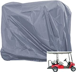 Happybuy 4 Passenger Golf Cart Cover, Waterproof and Sunproof Golf Cart Cover Fits EZ GO, Club Car and Yamaha, Dustproof and Durable - 112