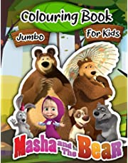 Masha and The Bear Colouring Book: Masha and The Bear 2021 Colouring Editon And Cool Unofficial Pictures