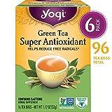 Yogi Tea - Green Tea Super Antioxidant - Helps Reduce Free Radicals -...