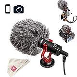 Boya by-MM1 Shotgun Video Microphone for iPhone, Huawei, DJI Osmo Mobile, ZHIYUN Smooth