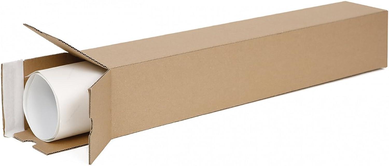 100 Versandhülsen eckig 435 x 105 105 105 x 105 mm   Papprohr DIN A2   Papprolle für portooptimierte Poster- und Dokumentensendung ohne Sperrgutzuschlag B07FXYMML3      New Product 2019  3b54bd