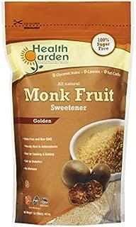 Best health garden golden monk fruit sweetener Reviews