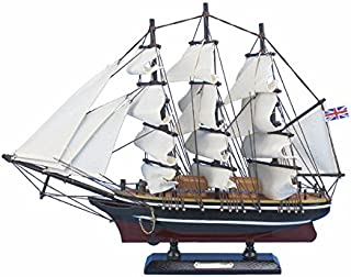 Wooden Cutty Sark Tall Model Clipper Ship 14''
