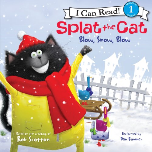 Splat the Cat: Blow, Snow, Blow cover art