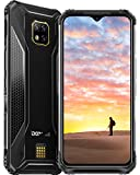 Telephone Portable Incassable, DOOGEE S95 Pro Smartphone Débloqués 4G, Écran 6.3 Pouces FHD, 8Go+256Go, Batterie 5150mAh, Smartphone Débloqué 4G, Helio P90, NFC/Face ID- Noir