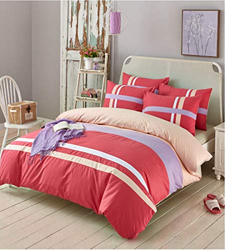 Read About HUROohj Cotton,The New Bedding Four Sets,European Style£¬Bedding Kits£¨ 4 Pcs£for Be...