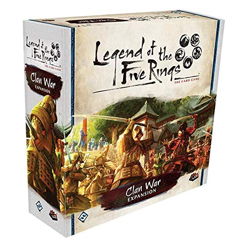 Fantasy Flight Games FFGL5C28 Legend of The Five Rings: The Card Game-Clan War Expansion, Various