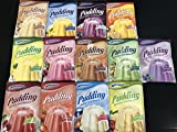 Komet Pudding-Mix 12´er Set