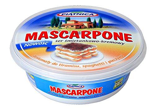 Piatnica Mascarpone-Creme - Creme für Tiramisu, sphagetti und Brot 250g