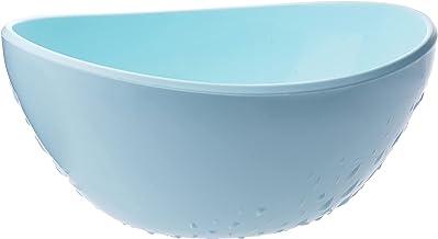 وعاء بلاستيكي مصنوع من البولي بروبلين من اوبجي، لون ازرق (SM-07-D4)
