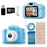 Ibello Cámara Digital para niños con Tarjeta Micro SD 32 GB Cámara de Fotos para niños 1080P Cámara Fotos Infantil...