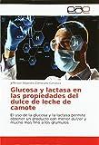 Glucosa y lactasa en las propiedades del dulce de leche de c