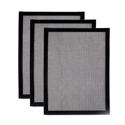 XZYP Grill Mat Set Von 1-3 100% Non-Stick BBQ Grill & Backmatten, Wiederverwendbare Und Leicht Zu Reinigen - Arbeiten Auf Elektrogrill Gasgrill Holzkohle - 15.75 X 13-Inch,3pacs
