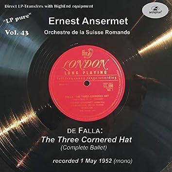 LP Pure, Vol. 43: Ansermet Conducts Falla