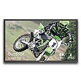 SYLVOX 55 inch Outdoor Smart TV,700nit, Weatherproof 4K Ultra high Resolution,7x16(H) Commercial Grade