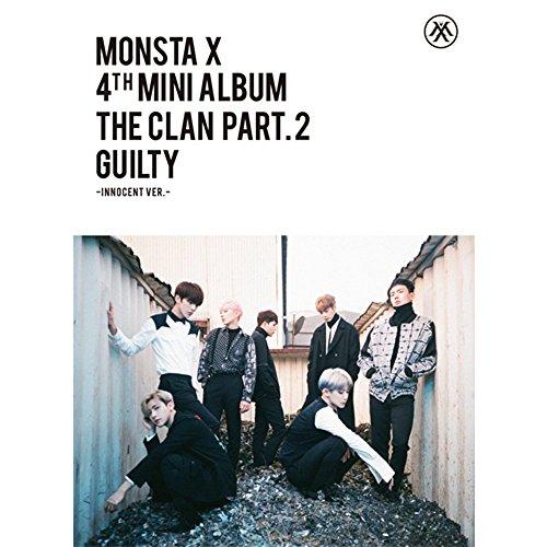 MONSTA X - [THE CLAN 2.5 PART.2 LOST] INNOCENT 4th Mini Album CD+Photobook+PhotoCard SEALED