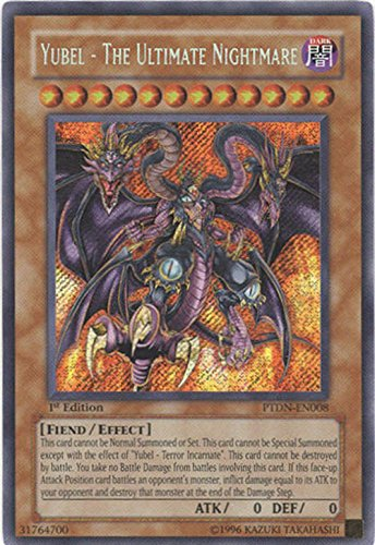 Yu-Gi-Oh! - Yubel - The Ultimate Nightmare (PTDN-EN008) - Phantom Darkness - Unlimited Edition - Secret Rare