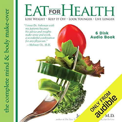 Eat for Health audiobook cover art