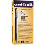 Uni-Ball 1768011 Jetstream 101 Ball Point Pens, Bold Point, Black Ink, 12-Count