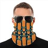 Neck Gaiter Windproof Cover Cover Shield Bandanas pour la poussière, à l'extérieur, modèle sans couture de sport avec l'image...