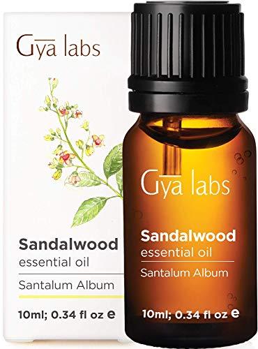 Huile essentielle de bois de santal - Nettoyant revigorant pour une beauté raffinée et équilibrée (10 ml) - 100% pure huile de bois de santal de qualité thérapeutique