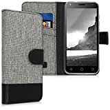 kwmobile Wallet Case Compatible with Alcatel 1 (5.0